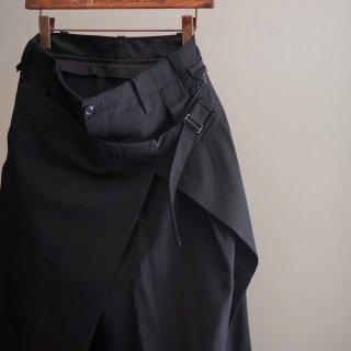 YOHJI YAMAMOTO スカート着脱パンツ(HK-P25-100)