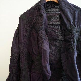 BIEK VERSTAPPEN wensleydale merino stole-purple