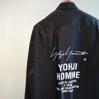 YOHJI YAMAMOTO キュプラクロス スタッフシャツA(HW-B08-212)