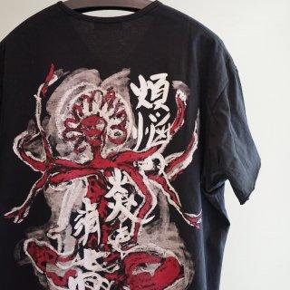 YOHJI YAMAMOTO ヘンリー顔抜きLTシャツ(HW-T37-081)