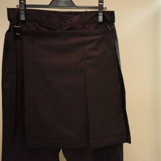 Ground Y スカート付きスリムパンツ(GW-P16-100)¥36720
