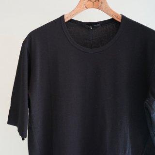 The Viridi-anne 強撚スムースTシャツ(VI-2894-01)BLK