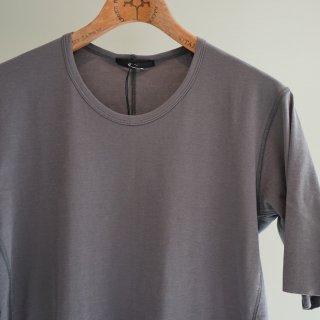 The Viridi-anne 強撚スムースTシャツ(VI-2894-01)GRY