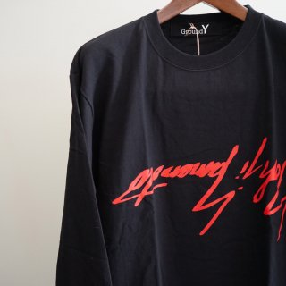 Ground Y BIG逆さYY LS 赤PT(GW-T64-074)¥9720