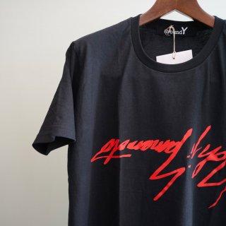 Ground Y BIG逆さYY Tシャツ赤PT(GW-T63-073)¥8640