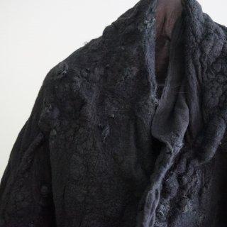 BIEK VERSTAPPEN wensleydale merino scarf(01)moss