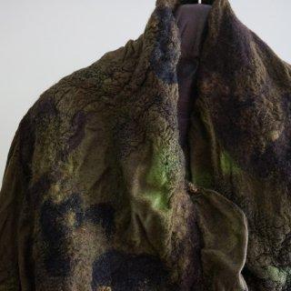 BIEK VERSTAPPEN wensleydale merino scarf(01)forest