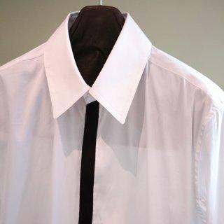 bajra ストレッチ ブロード 前立て配色シャツ(130BS01)