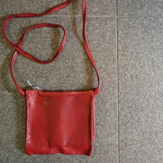 GUIDI KANGAROO FULL GRAIN 3POCKETS BAG(PKT3M)