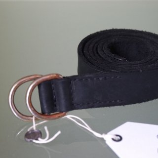 GUIDI BISON FULL GRAIN LEATHER BELT(BLT)BLK