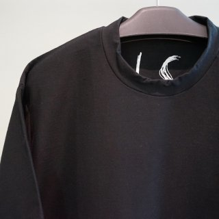 IS cotton jersey T-SHIRT(I1CO1T9S-01-ZN)BLK