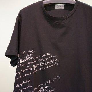 YOHJI YAMAMOTO 英字プリントTシャツ(HH-T36-085)