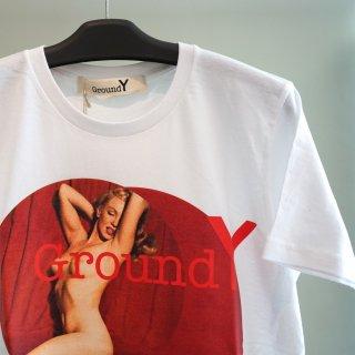 Ground Y MMグラフィック Tシャツ(GZ-T58-075)WHT