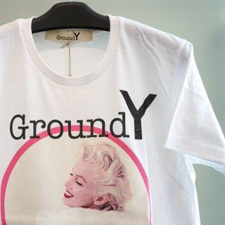 Ground Y MMグラフィック Tシャツ(GZ-T59-075)WHT