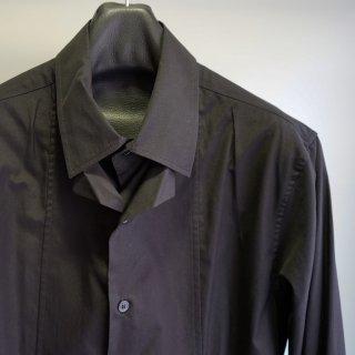 YOHJI YAMAMOTO ブロード腰ベルト付きシャツ(HC-B17-004)