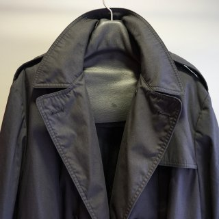 ISAMU KATAYAMA BACKLASH 軍USEDトレンチコート製品染め+JPNホース(RE-1612-65)