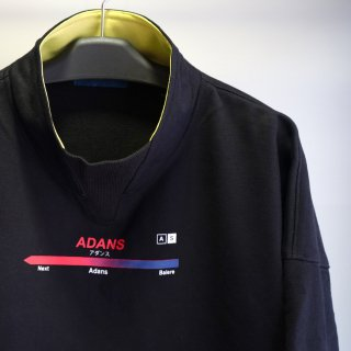 ADANS MOCK NECK SWEAT PULLOVER(AD193PO01)