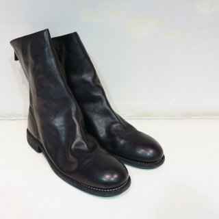 GUIDI HORSE FULL GRAIN BACK ZIP MID BOOT SOLE LEATHER(988)