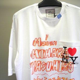 Maison MIHARA YASUHIRO Maison MIHARA YASUHIRO printed T-shirt(A04TS707)WHT