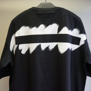 Ground Y Printed Big T-Shirt(GN-T44-071)BLK
