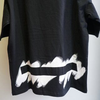 Ground Y Printed Big T-Shirt(GN-T45-071)BLK