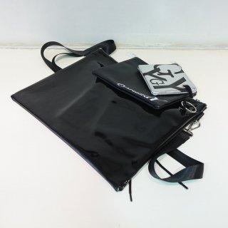 Ground Y PVC Shoulder Bag 3-P(GA-A10-953)BLK