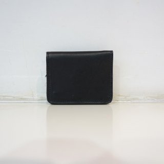 GUIDI KANGAROO ZIPPED WALLET(C8)BLK
