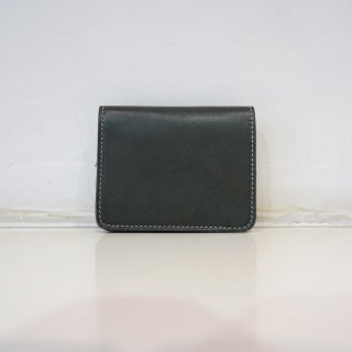 GUIDI KANGAROO ZIPPED WALLET(C8)GRN