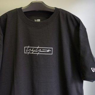YOHJI YAMAMOTO YYxNewEraコットンTシャツ ボックスロゴ(HN-T97-081)