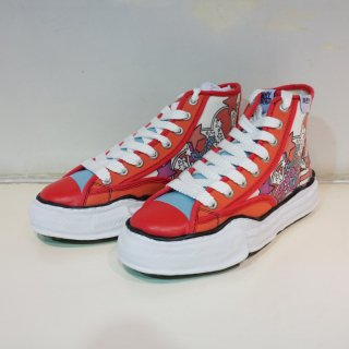 Maison MIHARA YASUHIRO original sole printed hicut sneaker(A04FW701)