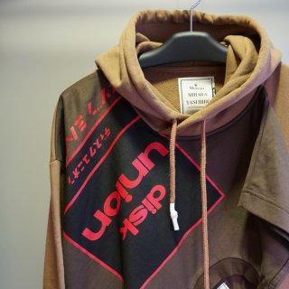 Maison MIHARA YASUHIRO T-shirt docking hoodie(A04HD561)BRW