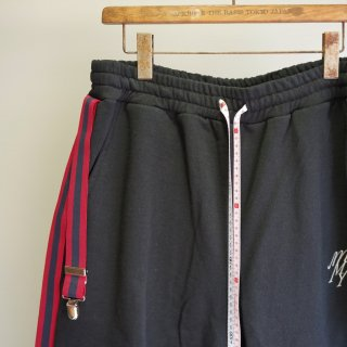 Maison MIHARA YASUHIRO suspender short pants(A04SP632)BLK