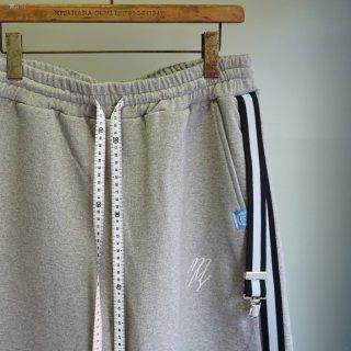 Maison MIHARA YASUHIRO suspender short pants(A04SP632)GRY