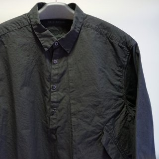 The Viridi-anne コットン製品染めハーフスリーブシャツ(VI-3207-02)