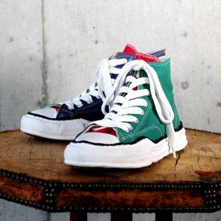 Maison MIHARA YASUHIRO original sole canvas hitop sneaker(A01FW701)MLT