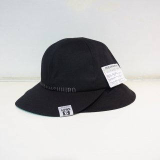 Maison MIHARAYASUHIRO cotton double hat(A05AC402)BLK
