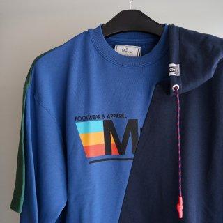 Maison MIHARA YASUHIRO Conbined pullover(A05PO562)NVY