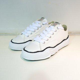 Maison MIHARA YASUHIRO original sole canvas low-top sneaker(A01FW702)WHT