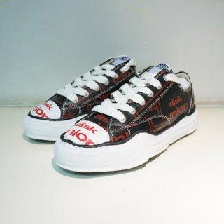 Maison MIHARA YASUHIRO original sole diskunion leather low-top sneaker(A04FW714)BLK