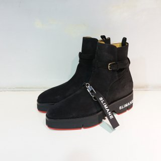 SLIMANE (The Jodhpur Boots)BLK