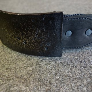 ISAMU KATAYAMA BACKLASH jun uezono SILVER BUCKLE BELT(J-474-01)