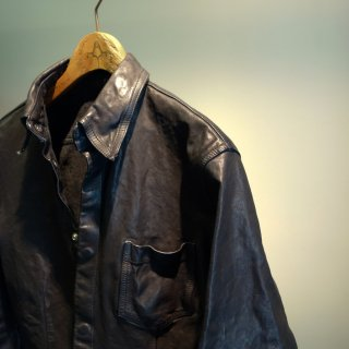 BACKLASH イタリアンダブルショルダー製品染めシャツ(1254-14)M.BLK