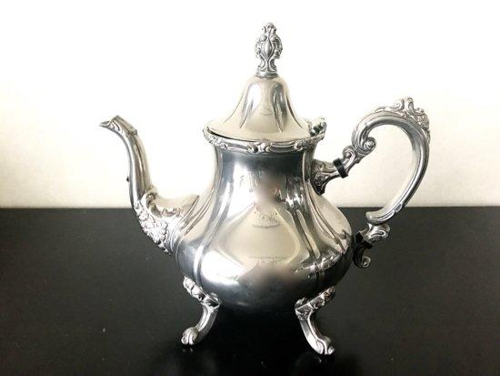 Silver Plated /House of Fraser/Tea Pot A(シルバープレイテッド・ハウスオブフレイサー  ティーポット…