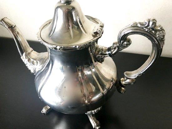 Silver Plated /House of Fraser/Tea Pot B(シルバープレイテッド・ハウスオブフレイサー  ティーポット…