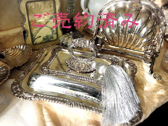 Silver Plated /Fenton Brothers Ltd./シルバープレイテッド・フェントンブラザーズ・サービングディッシュ(チューリン)