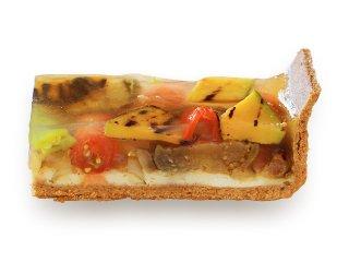 夏野菜の冷製キッシュ