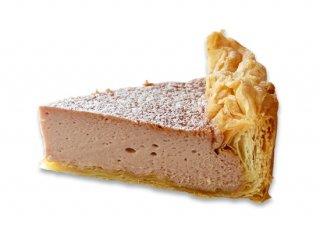 赤ワインのチーズケーキ