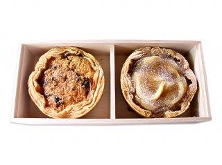 煮穴子とごぼうのキッシュ×レモンと林檎のパイ
