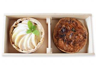 白いりんご×冬野菜 in デミグラスソースのキッシュ