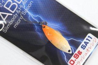 ドラゴンフィッシュジャパン セイバー 0.9g #11 フラッシュオレンジ